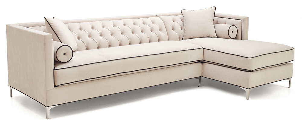 California sofa classic 317 for Semi classic sofa